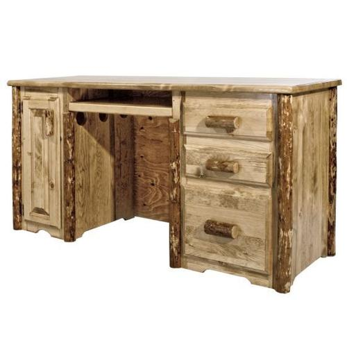 Montana Woodworks - Glacier Country Collection Computer Desk