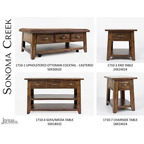 Sonoma Creek Sofa Table