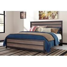Harlinton - Warm Gray/Charcoal 3 Piece Bed (King)