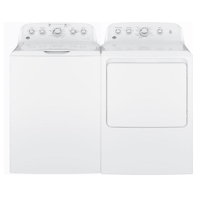 GE® 7.2 cu. ft. Capacity aluminized alloy drum Gas Dryer