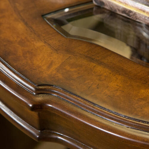 Amini - Chair Side Table Royal Sienna