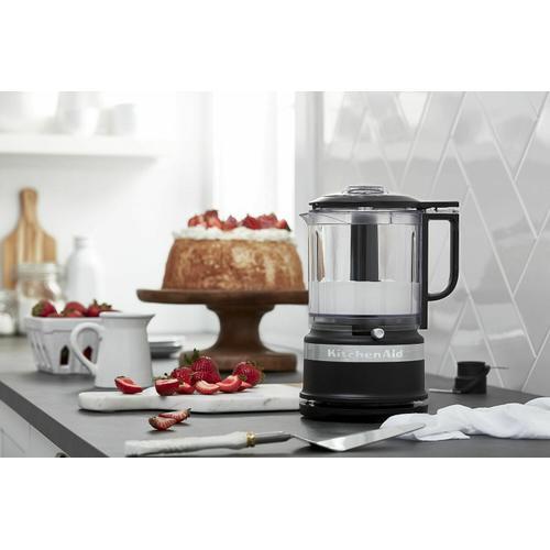 KitchenAid - 5 Cup Food Chopper - Black Matte