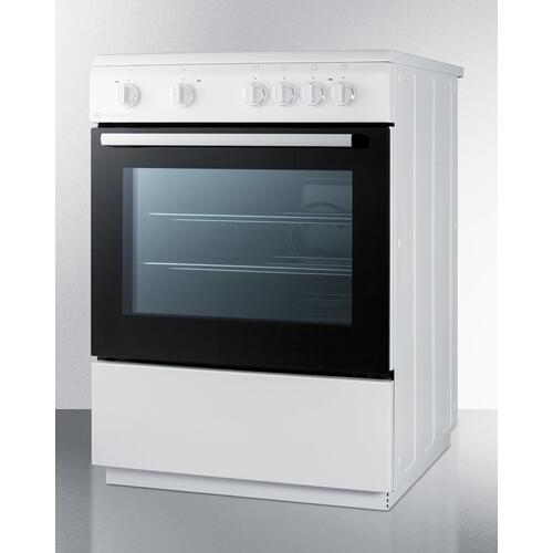 """24"""" Wide Smooth Top Electric Range"""