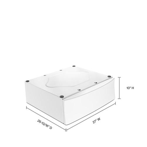 """Gallery - 10"""" Pedestal for Front Load Washer and Dryer"""