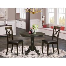3 PC Kitchen Table-Kitchen Table and 2 Dining Chairs