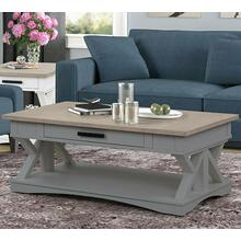 View Product - AMERICANA MODERN - DOVE Cocktail Table