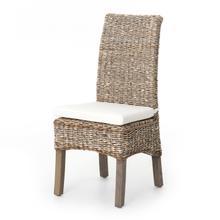 Grey Wash Cover Banana Leaf Chair