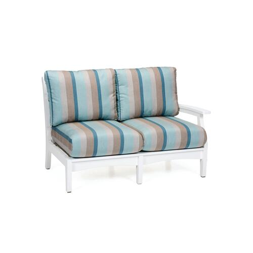 Classic Terrace Left Arm Sectional Loveseat