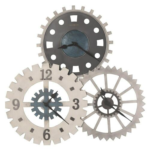 Howard Miller Cogwheel I Oversized Wall Clock 625725