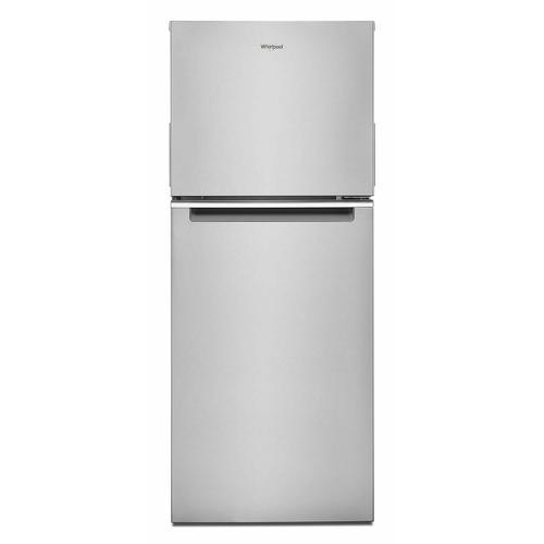 24-inch Wide Top-Freezer Refrigerator - 11.6 cu. ft. Fingerprint-Resistant Stainless Finish