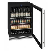 """View Product - Hbv024 24"""" Beverage Center With Stainless Solid Finish (230v/50 Hz Volts /50 Hz Hz)"""