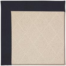 "Creative Concepts-White Wicker Canvas Navy - Rectangle - 24"" x 36"""