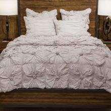 6pc King Comforter Set Stone