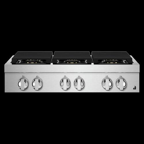 "36"" NOIR™ Gas Professional-Style Rangetop"