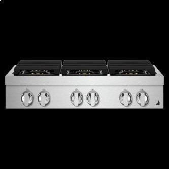 "36"" NOIR™ Gas Professional-Style Rangetop"