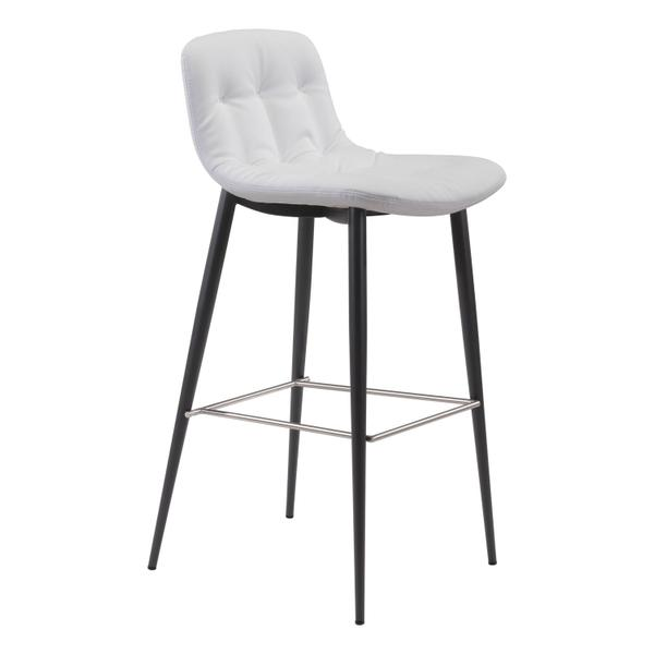 See Details - Tangiers Bar Chair White