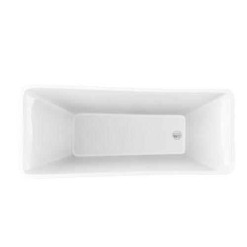 "Melanie 68"" Acrylic Slipper Tub"