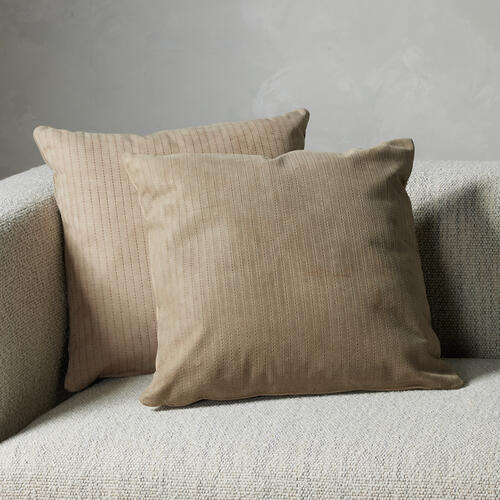 Montana Sage Cover Sevanne Embossed Leather Pillow Sets