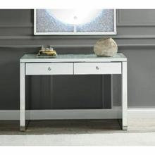 ACME Noralie Console Table - 90507 - Mirrored & Faux Diamonds