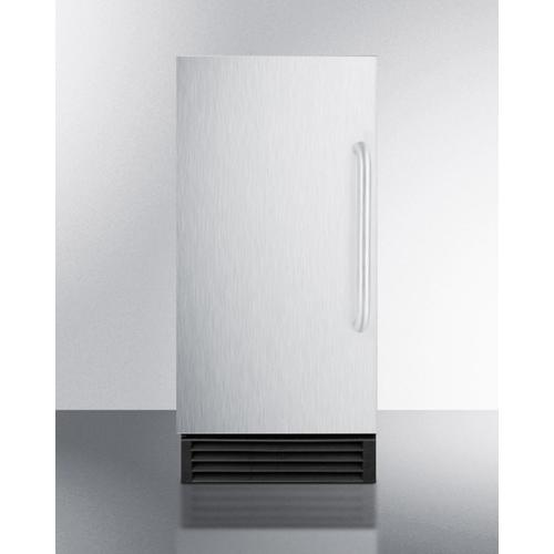 Summit - Built-in 50 Lb. Clear Icemaker
