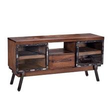 See Details - Console - Caramel/Iron Finish