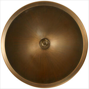 Bronze Small Round Smooth Product Image