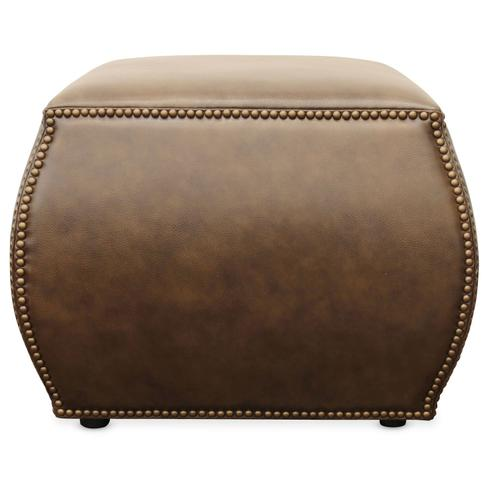 Living Room Cordova Leather Ottoman