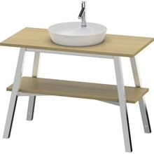 Vanity Unit Floorstanding, White Bech (solid Wood)