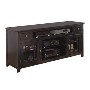"74"" Console - Black Finish"