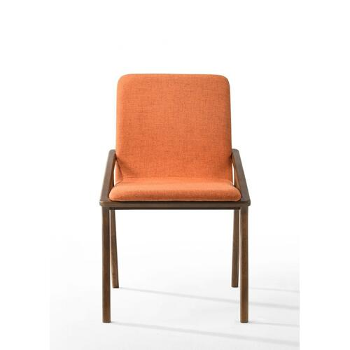 VIG Furniture - Zeppelin - Modern Orange Dining Chair (Set of 2)