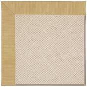 Creative Concepts-White Wicker Dupione Bamboo
