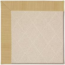 "Creative Concepts-White Wicker Dupione Bamboo - Rectangle - 24"" x 36"""