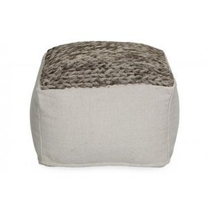 Top Knitted Pouf