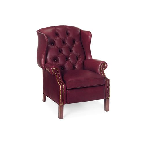 1011 BROWNING TUFTED WING CHAIR RECLINER