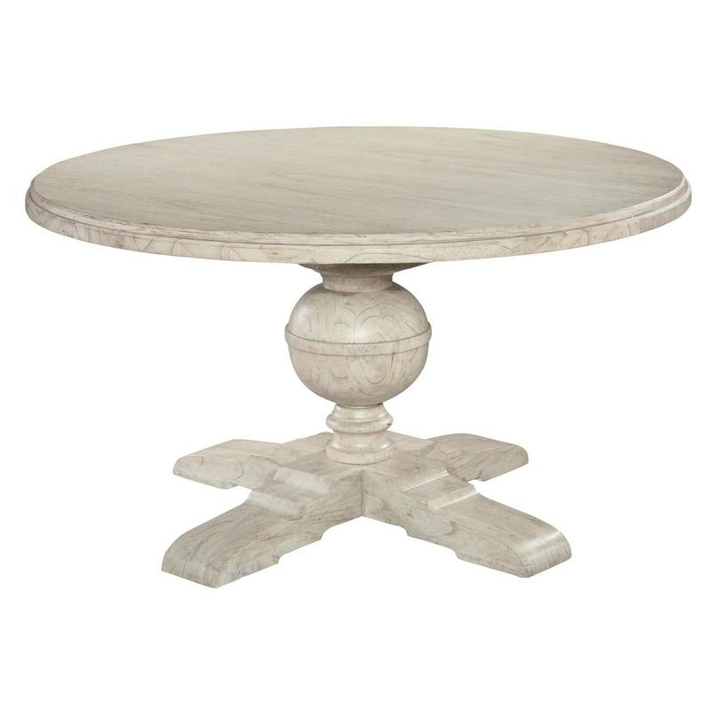1-2221LN Homestead Round Pedestal Dining Table