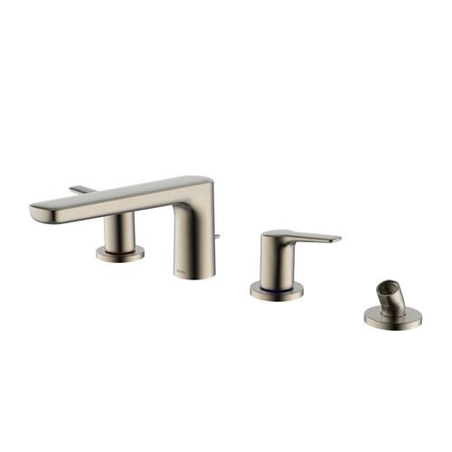GS Four-Hole Roman Tub Filler Trim - Brushed Nickel