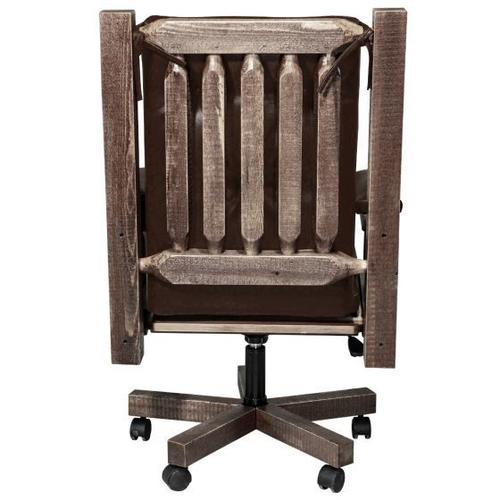Montana Woodworks - Homestead Collection Office Chair, Stain and Lacquer Finish