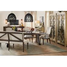 View Product - Roslyn County Trestle Dining Table, 2 Host Chairs and 2 Side Chairs