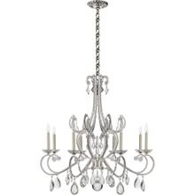 AERIN Montmartre 8 Light 40 inch Polished Nickel Chandelier Ceiling Light