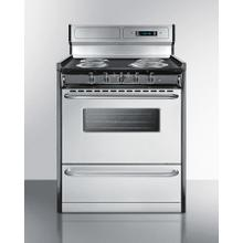 """See Details - 30"""" Wide Electric Coil Range"""