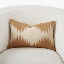 See Details - Tristan Pillow-Gold Seed Beads/Bone