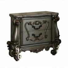 ACME Versailles Nightstand - 26843 - Antique Platinum