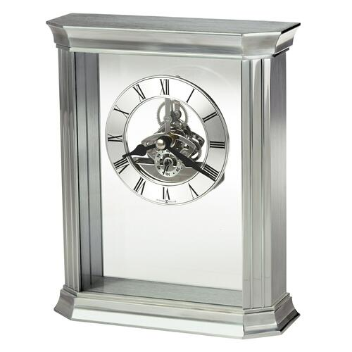 Howard Miller Rothbury Silver Table Clock 645806