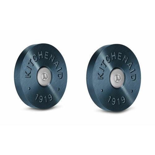 KitchenAid - KitchenAid® Commercial-Style Range Handle Medallion Kit - Dark Blue