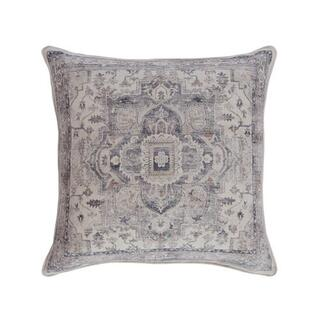 See Details - Sylvia Pillow Cover Grey