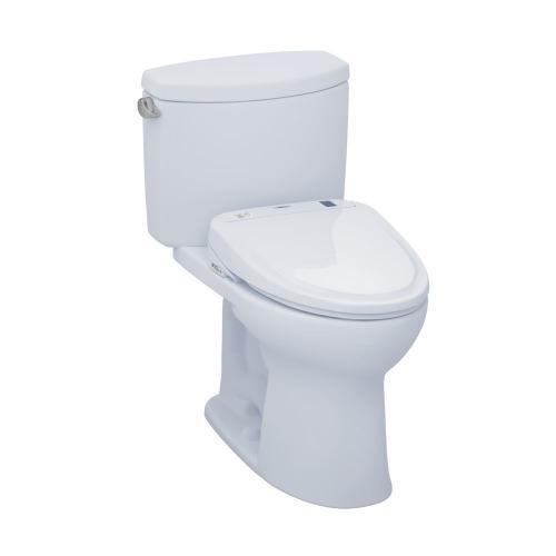 Drake® II WASHLET®+ S350e Two-Piece Toilet - 1.28 GPF - Cotton