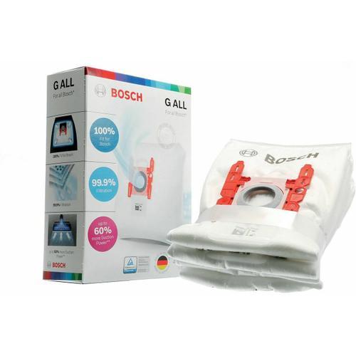 Bosch - Vacuum Bags - Type G (4 pack) BBZ41FGALL 17003048