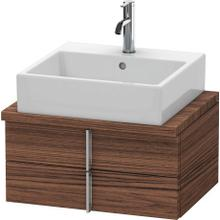 Product Image - Vanity Unit For Console Compact, Walnut Dark (decor)