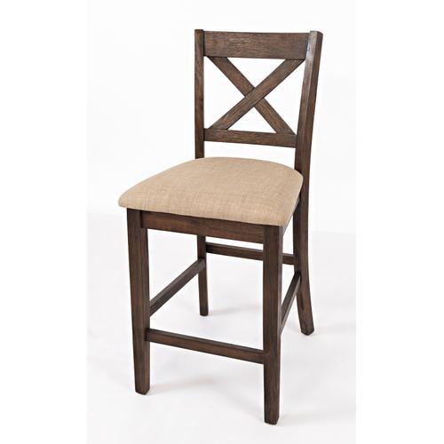Jofran - Walnut Creek 5 Pack - Counter Table W/(4) Stools