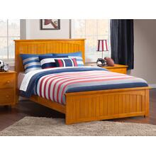 Nantucket Queen Bed with Matching Foot Board in Caramel Latte